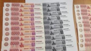 Фальшивомонетчики задержаны в Воронеже за сбыт купюр через терминалы