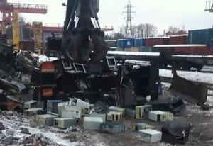 Крупнейшую в 2013 году партию контрафакта уничтожили полицейские в Костроме
