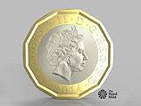 Великобритания начнет чеканить самую защищенную от подделки в мире монету