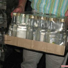 В Оренбургскую область везли «палёную» водку