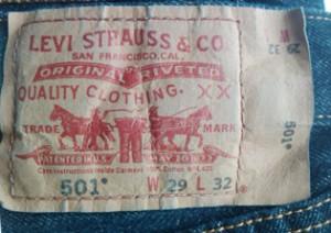 Признаки настоящих джинсов Levis