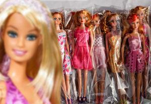 Это «неправильная» Барби: на Урале изъяли более тысячи поддельных кукол