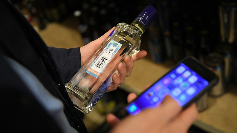 В Москве на складе нашли почти 40 тыс бутылок поддельного алкоголя